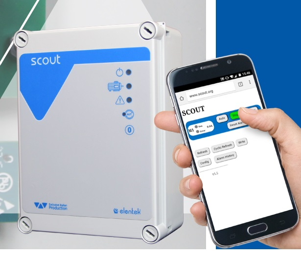 SCOUT , WiFI control panel