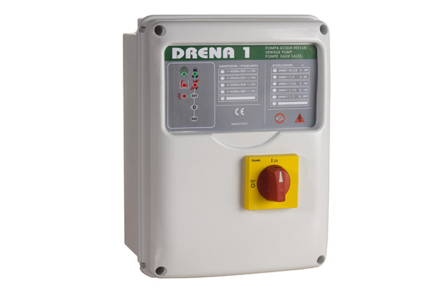 Drain1 400 V 3∼ 7.5kW , control panel for pump